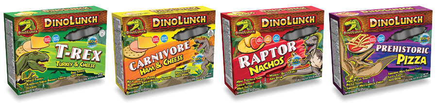 DinoLunch Kids' Lunch with Juice Drink